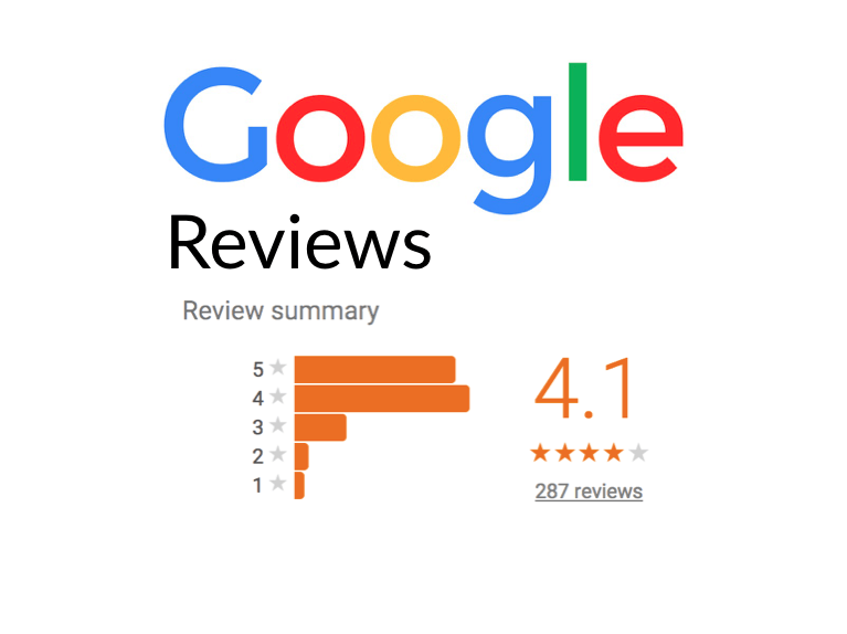 impressive Google reviews