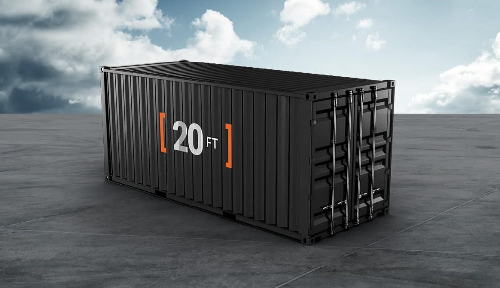 SCF 20ft Containers