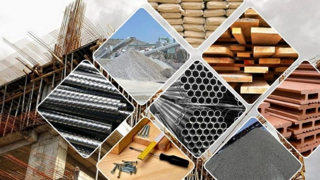 new and used building material