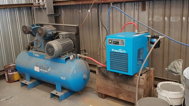 removing water from compressors