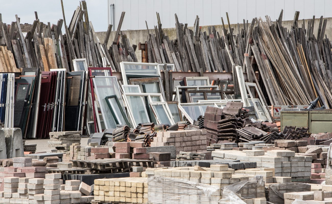 The importance of recycling unused and reclaimed construction materials